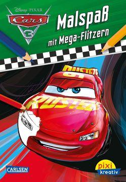 Pixi kreativ 110: Disney Cars 3 – Malspaß mit Mega-Flitzern