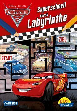 Pixi kreativ 113: Disney Cars 3 – Superschnell durch Labyrinthe