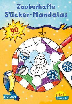 Pixi kreativ Nr. 92: Zauberhafte Sticker-Mandalas von Reimers,  Silke