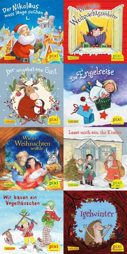 Pixi-Weihnachts-Box 33: Fröhliche Weihnacht überall (8×8 Exemplare) von Diverse