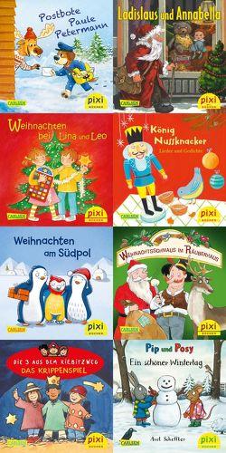 Pixi-Weihnachts-Box 34: ABC, Pixi lief im Schnee (8×8 Exemplare) von Diverse