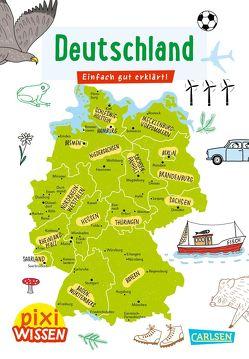 Pixi Wissen 109: VE 5 Deutschland von Panders,  Wendy, Stahr,  Christine
