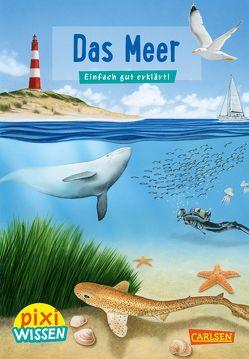 Pixi Wissen 11: VE 5 Das Meer (5 Exemplare) von Hoffmann,  Brigitte, Windecker,  Jochen