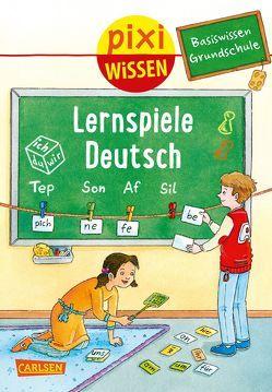 Pixi Wissen 98: Basiswissen Grundschule: Lernspiele Deutsch von Bade,  Eva, Coenen,  Sebastian