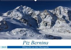 Piz Bernina – Höhepunkte aus dem Oberengadin (Wandkalender 2019 DIN A2 quer) von Ries,  Bertold