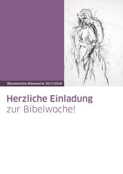 Plakat zur Bibelwoche von Lange,  Karl-Ludwig