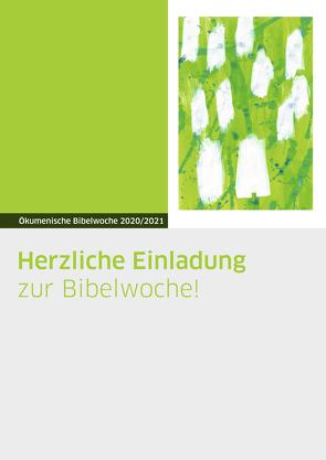 Plakat zur Bibelwoche von Oellerich,  Christiane
