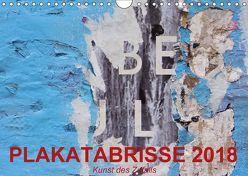 Plakatabrisse 2018 – Kunst des Zufalls (Wandkalender 2018 DIN A4 quer) von Stolzenburg,  Kerstin
