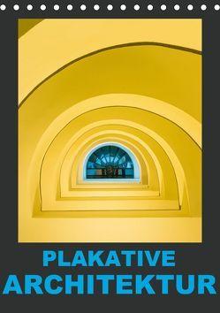Plakative Architektur (Tischkalender 2019 DIN A5 hoch) von Caccia,  Enrico