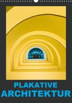 Plakative Architektur (Wandkalender 2019 DIN A3 hoch) von Caccia,  Enrico