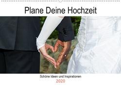 Plane Deine Hochzeit (Wandkalender 2020 DIN A2 quer) von Webeler,  Janita