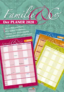"""Planer """"Familie & Co"""" Kalender 2020 von PHOTON Verlag"""