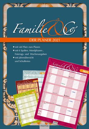 """PLANER """"FAMILIE & CO"""" Kalender 2021 von PHOTON Verlag"""