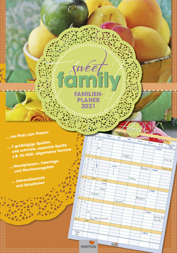"PLANER ""SWEET FAMILY"" Kalender 2021 von PHOTON Verlag"