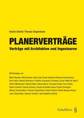 Planerverträge (PrintPlu§) von Siegenthaler,  Thomas, Stöckli ,  Hubert