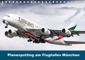 Planespotting am Flughafen München (Tischkalender 2020 DIN A5 quer) von Eger,  Konrad