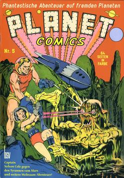 Planet Comics Nr. 5 von Bob Powell,  und andere, Eisner,  Will, Reichert,  Monja