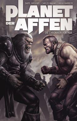 Planet der Affen Comicband von Gregory,  Daryl, Kasprzak,  Andreas, Magno,  Carlos