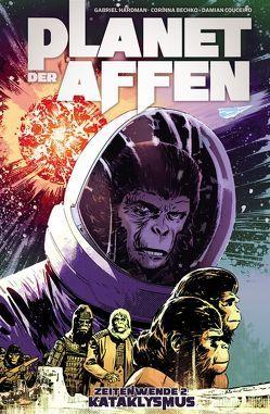 Planet der Affen – Zeitenwende 2: Kataklysmus von Bechko,  Corinna, Hardman,  Gabriel, Kasprzak,  Andreas