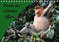 Planet der seltenen Affen (Tischkalender 2019 DIN A5 quer) von Edel,  Anja