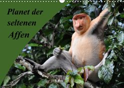 Planet der seltenen Affen (Wandkalender 2018 DIN A3 quer) von Edel,  Anja