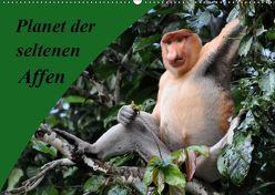 Planet der seltenen Affen (Wandkalender 2019 DIN A2 quer) von Edel,  Anja