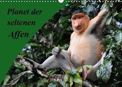 Planet der seltenen Affen (Wandkalender 2019 DIN A3 quer) von Edel,  Anja