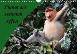Planet der seltenen Affen (Wandkalender 2019 DIN A4 quer) von Edel,  Anja