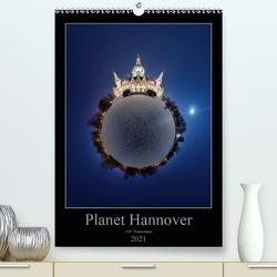 Planet Hannover (Premium, hochwertiger DIN A2 Wandkalender 2021, Kunstdruck in Hochglanz) von Marx,  Igor