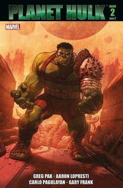 Planet Hulk von Pagulayan,  Carlos, Pak,  Greg
