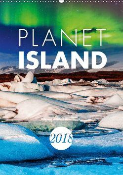 Planet Island (Wandkalender 2018 DIN A2 hoch) von Kilmer,  Sascha