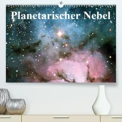 Planetarischer Nebel (Premium, hochwertiger DIN A2 Wandkalender 2020, Kunstdruck in Hochglanz) von Stanzer,  Elisabeth
