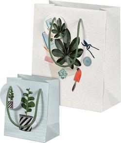 Plant it – Love it! Geschenktüten-Set Motiv Pflanzenkinder von Schöll,  Stephan