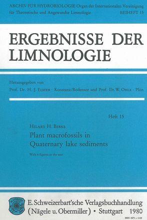 Plant macrofossils in Quaternary lake sediments von Birks,  Hilary H