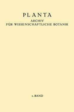 Planta von Ruhland,  W., Winkler,  H.