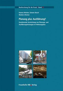 Planung plus Ausführung?. von Bosch,  Simone, Weeber,  Hannes
