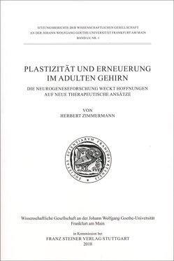 Plastizität und Erneuerung im adulten Gehirn von Zimmermann,  Herbert