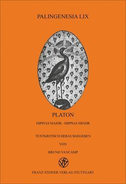 Platon: Hippias maior – Hippias minor von Vancamp,  Bruno