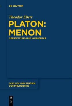 Platon: Menon von Ebert,  Theodor