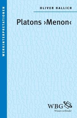 """Platons """"Menon"""" von Hallich,  Oliver"""