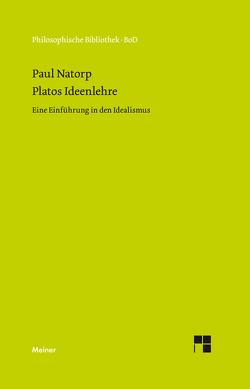 Platos Ideenlehre von Natorp,  Paul
