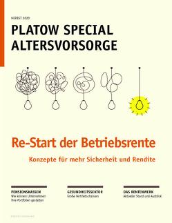 PLATOW Special Altersvorsorge 2021 von Schirmacher,  Albrecht F.