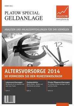 PLATOW Special Geldanlage von Schirmacher,  Albrecht F.