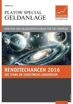 PLATOW Special Geldanlage von Mahlmeister,  Frank, Schirmacher,  Albrecht F.