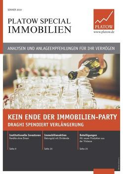 PLATOW Special Immobilien Sommer 2019 von Mahlmeister,  Frank, Schirmacher,  Albrecht F.