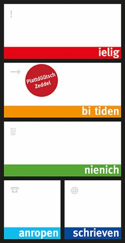 Plattdüütsch Zeddel (Neuauflage)