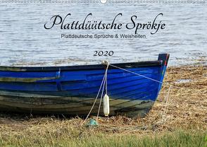 Plattdüütsche Sprökje 2020 (Wandkalender 2020 DIN A2 quer) von Hebgen,  Peter