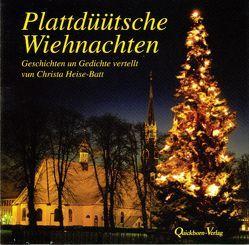 Plattdüütsche Wiehnachten von Heise-Batt,  Christa