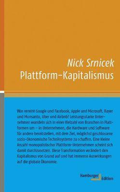 Plattform-Kapitalismus von Schäfer,  Ursel, Srnicek,  Nick