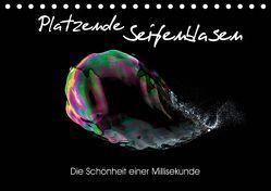 Platzende Seifenblasen – Die Schönheit einer Millisekunde (Tischkalender 2019 DIN A5 quer) von rclassen